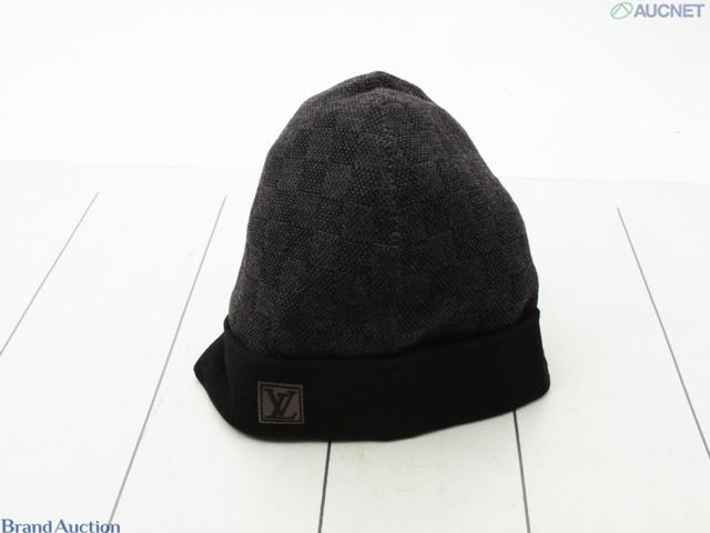 M70009 ダミエ・グラフィット ニット帽 ボネプティダミエ