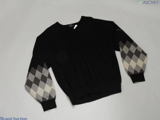 バーバリーゴルフ セーター ブラック