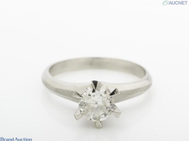 ダイヤモンド Pm900 リング D0.55ct 総重量4.9g