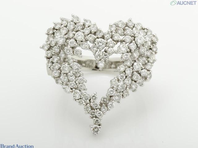 Pt900 ダイヤモンド1.66ct 15.3g