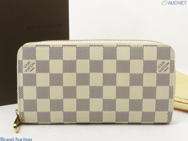 N60019  ダミエアズール ジッピーウォレット 旧型