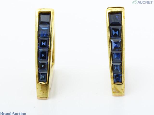 K18(750) サファイヤ4.09ct 11.7g