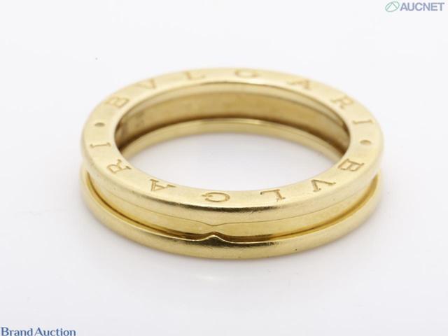 ビー・ゼロワン(貴金属)・指輪 YG XS K18・750 8.2g