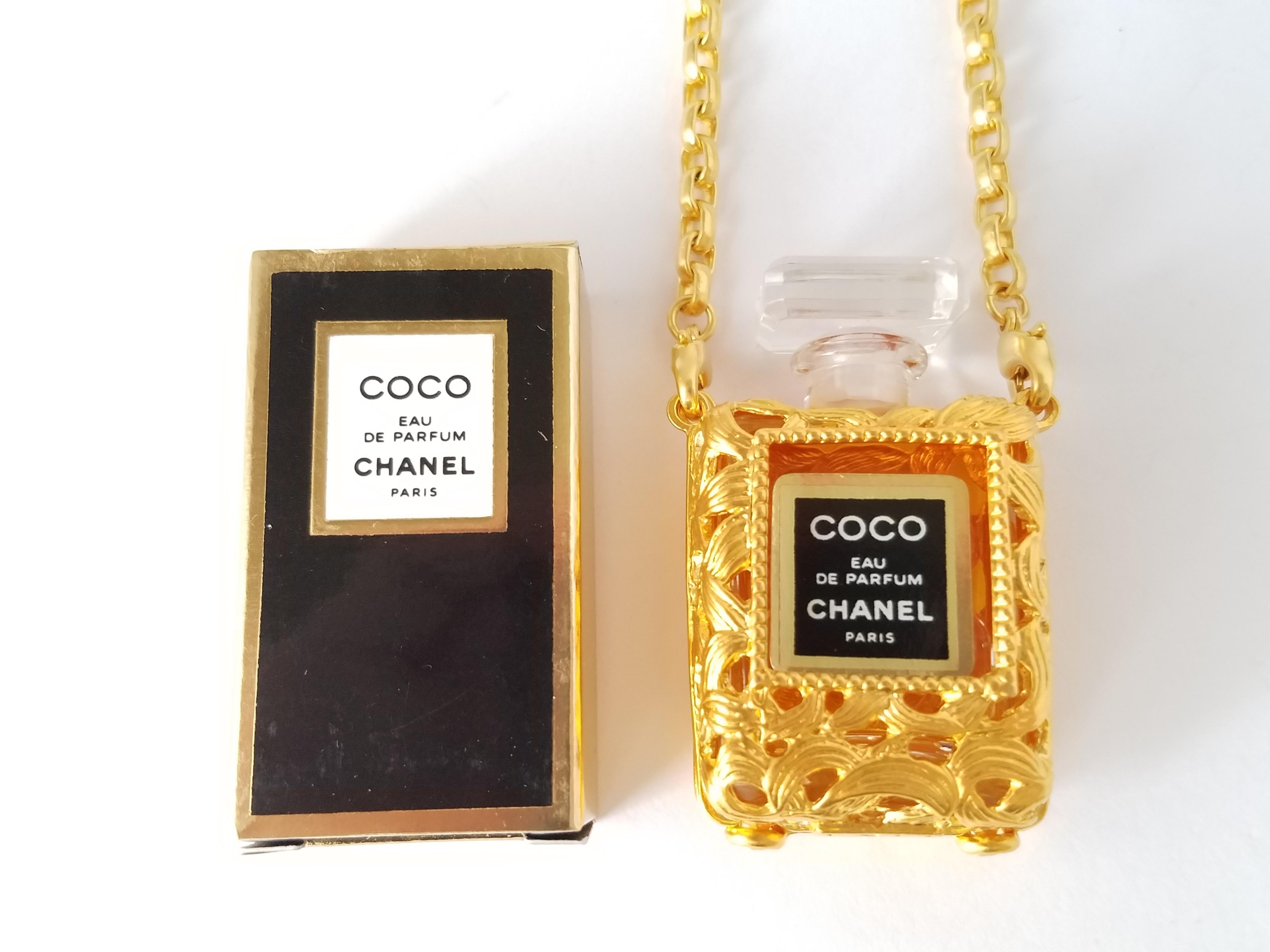 COCO 香水 ネックレス